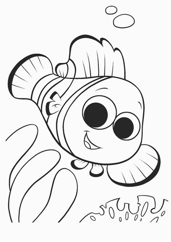 coloring pages printable finding nemo coloring page