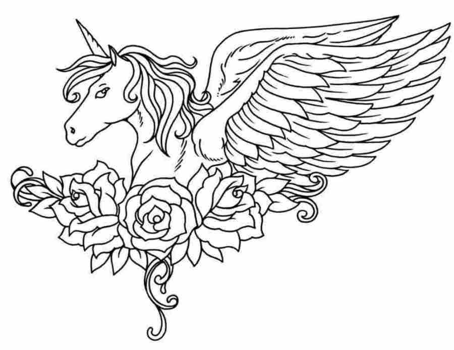 coloring pages printable unicorn unicorns coloring pages