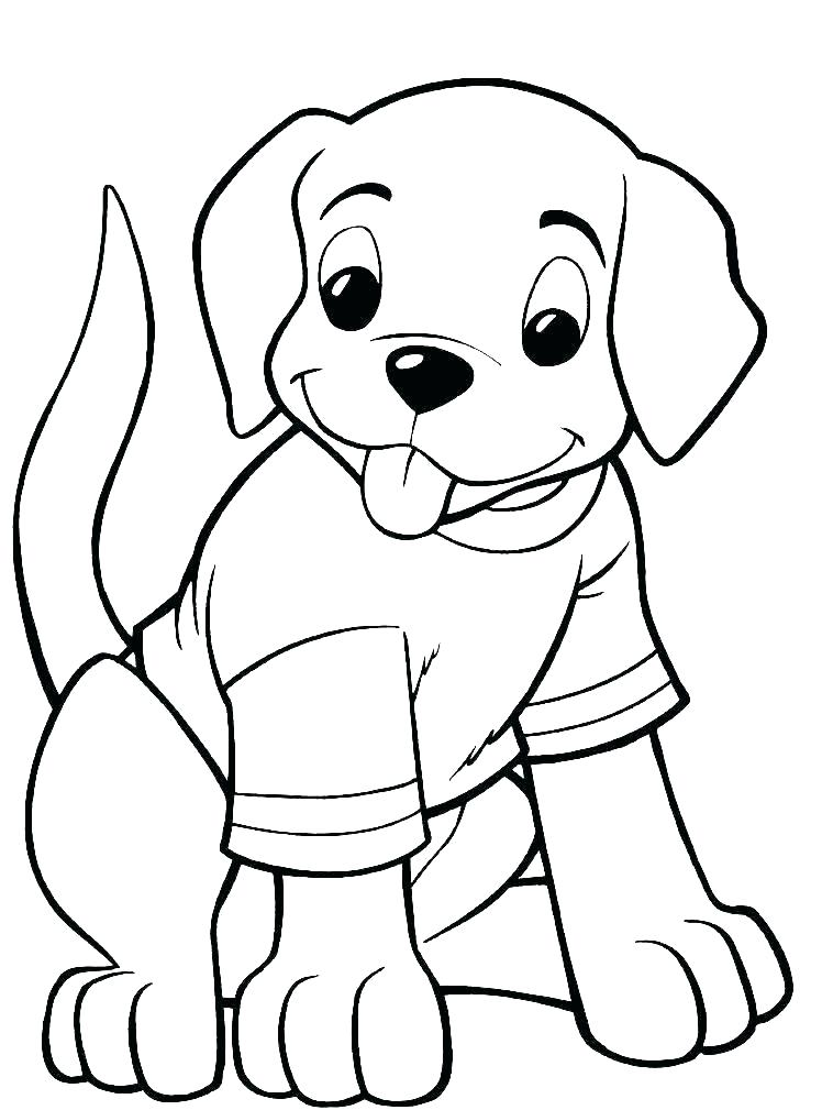 coloring pages puppies to color and print cute pets teless