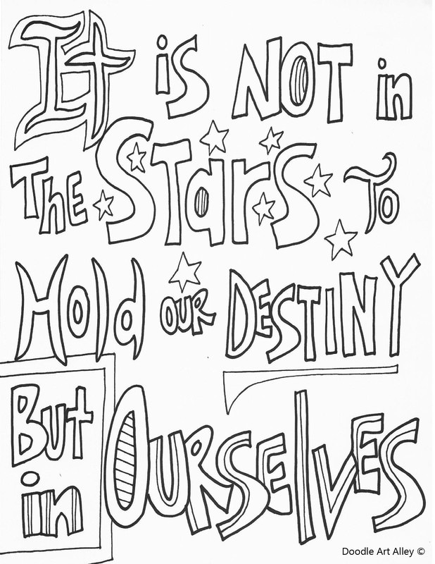 coloring pages quote