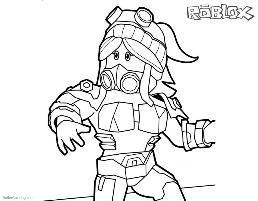 coloring pages roblox noob printable aiminaseprintable