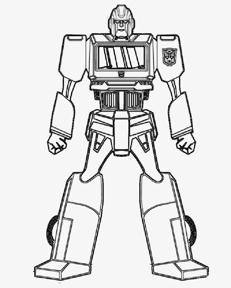 coloring pages robots racingquests