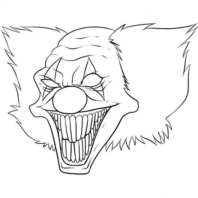 coloring pages scary halloween coloring pages very scary