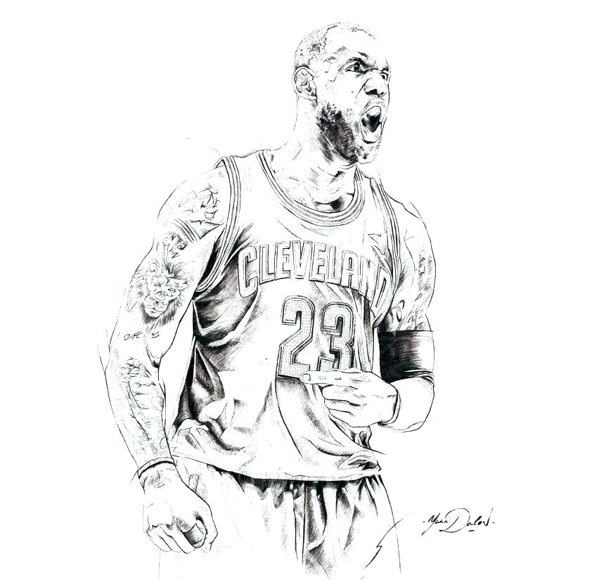 coloring pages shoes drawing lebron james color with regard