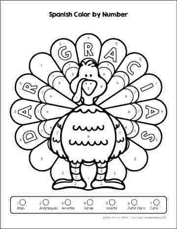 coloring pages spanish numbers coloring pages spanish