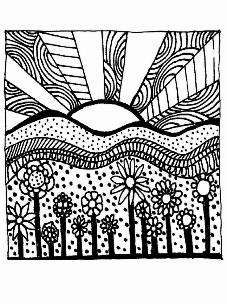 coloring pages sunrise at getdrawings free for