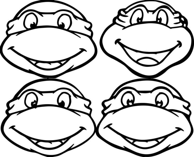 coloring pages teenage mutant ninja turtles coloring best