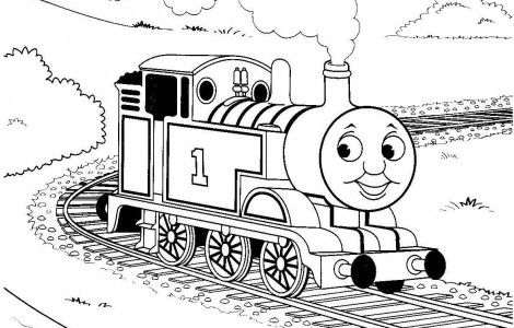 coloring pages thomas the train download free printable