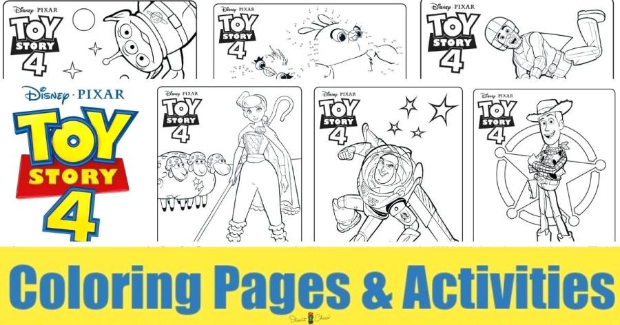 coloring pages toy story 4 all characters wigglepro