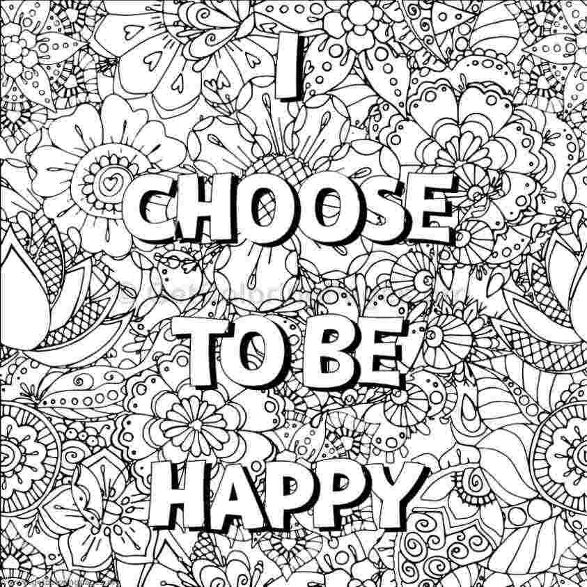 coloring pages with inspirational words inspiring words