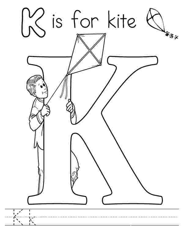 - Letter Coloring Pages Idea - Whitesbelfast