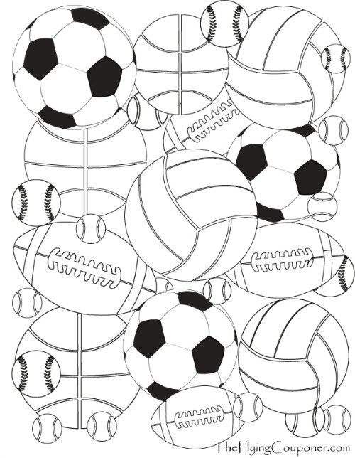 colouring pages for adults and kids fussball mandalas