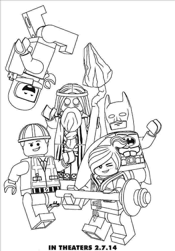 colouring pages lego movie 2 huangfei