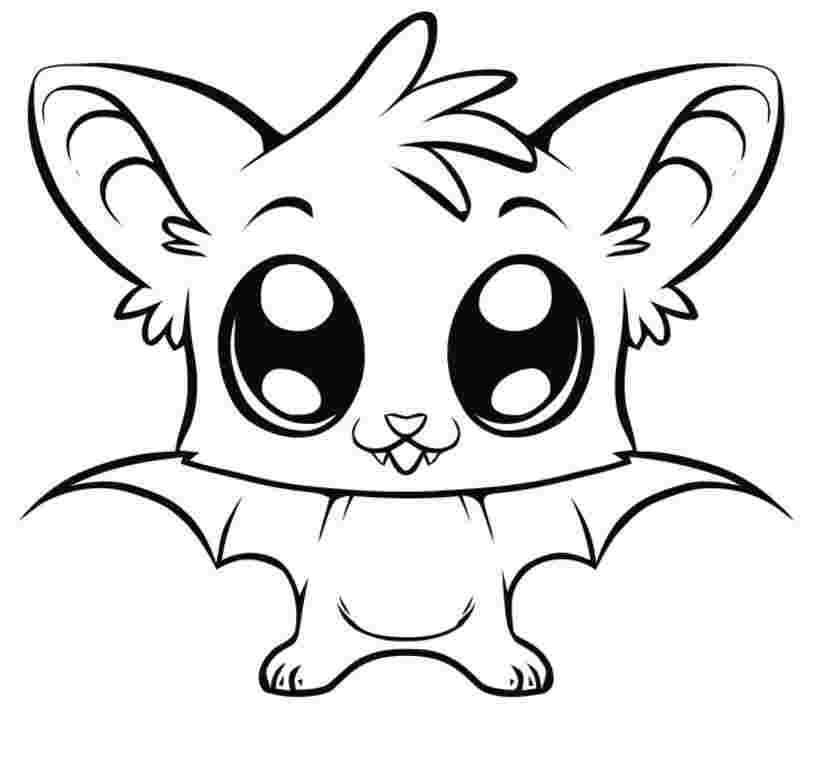 colouring pages of cute ba animals cute animal coloring