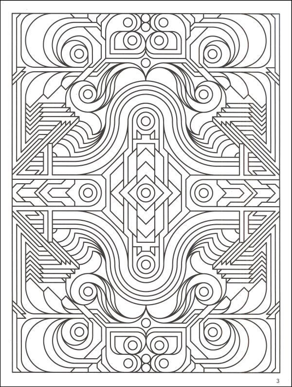 complex geometric coloring pages geometric coloring pages