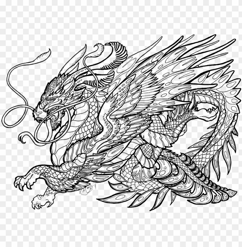 complicated dragon coloring pages complex coloring pages
