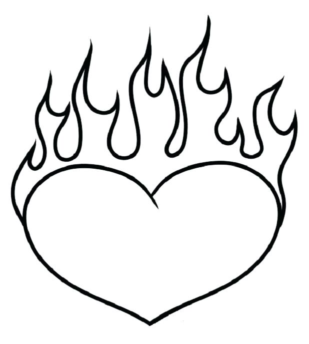 cool coloring pages of hearts at getdrawings free for