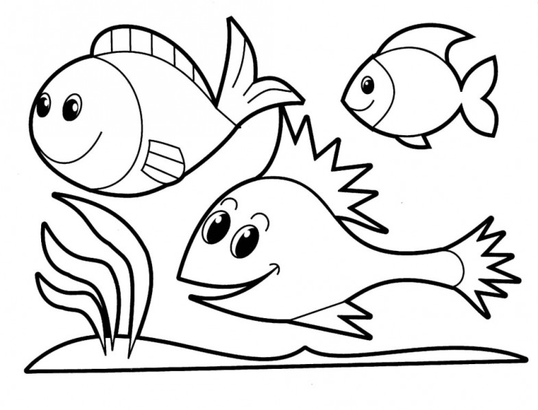 cool fish coloring pages