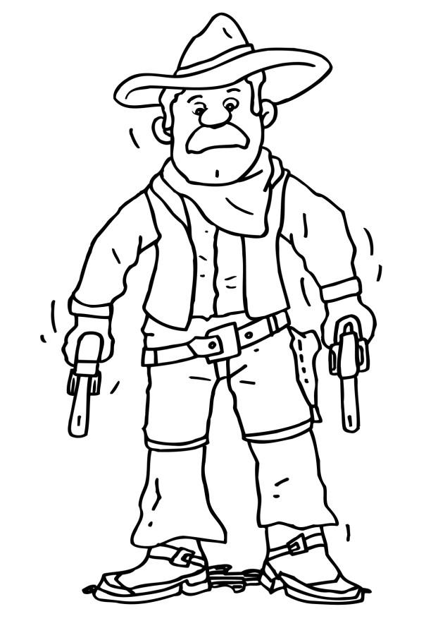 cowboys coloring pages learn to coloring