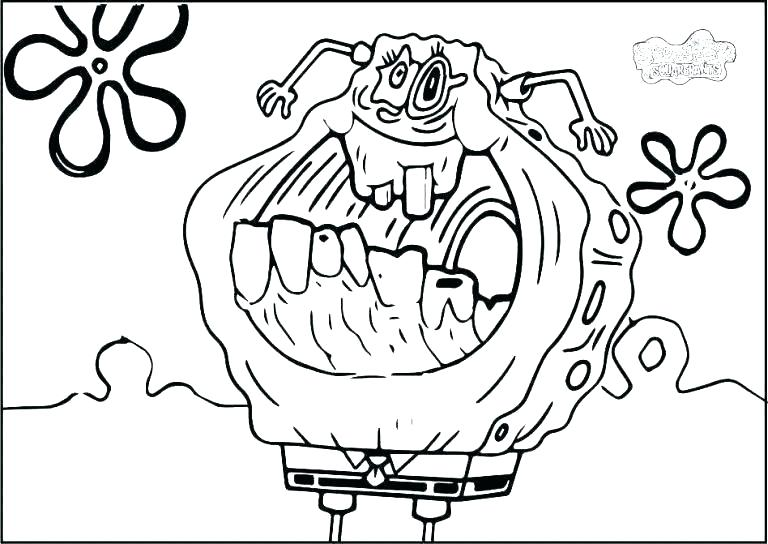 creepy coloring pages