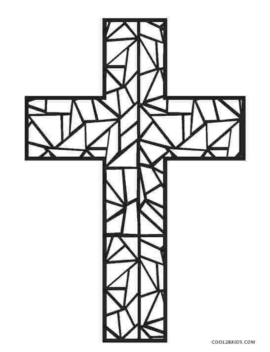cross coloring pages for easter religious easter coloring