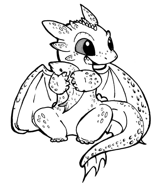 cute ba dragons coloring pages gallery fun for kids