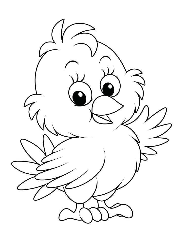 cute chick coloring pages at getdrawings free for