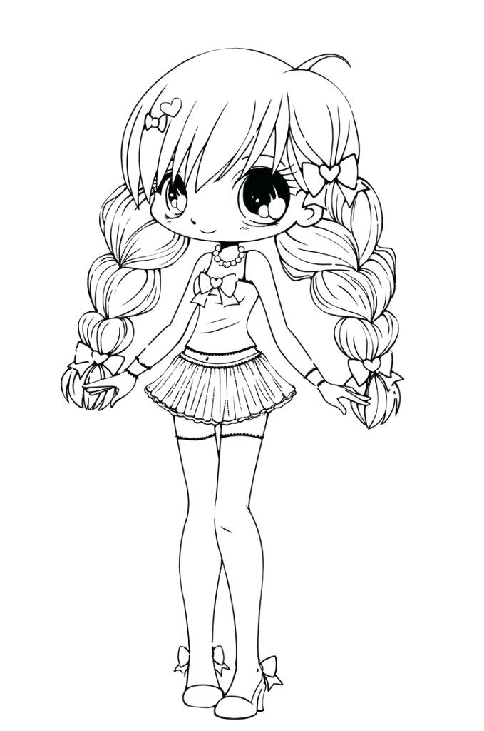cute girls coloring pages