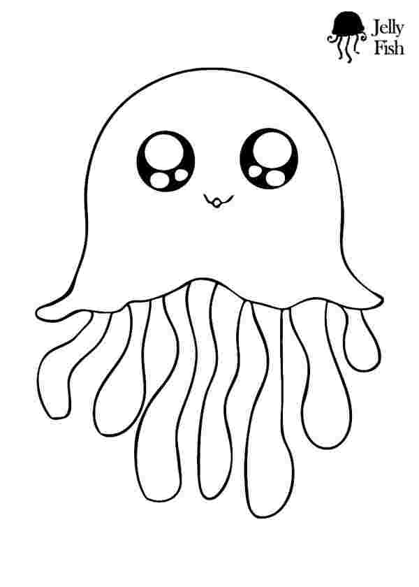 cute jellyfish coloring pages cute jellyfish coloring pages
