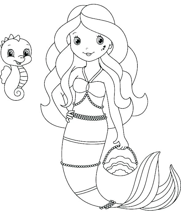 cute mermaid coloring pages nice ba mom and free pin page
