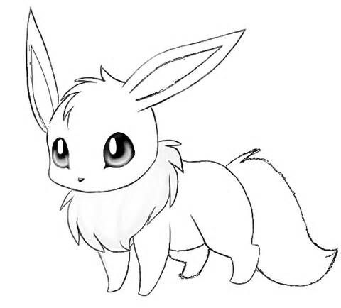 cute pokemon coloring pages eevee