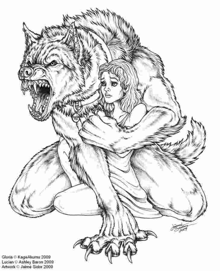 cute werewolf coloring pages kaigobank