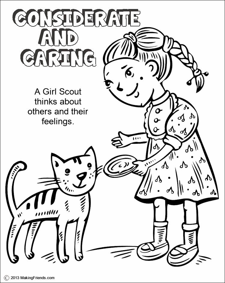 daisy girl scouts coloring page unique images green petal