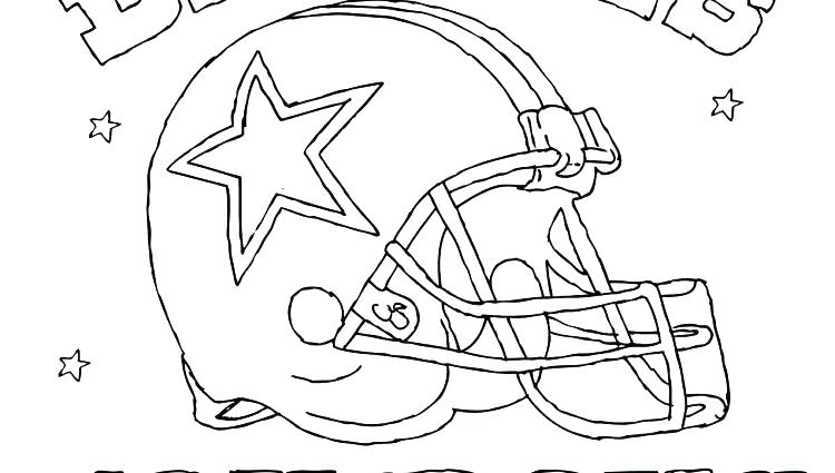 dallas cowboy coloring pages collection fun for kids