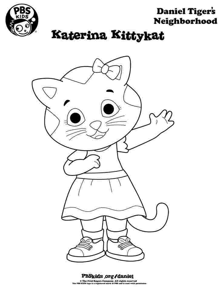 daniel tiger coloring pages pbs print color daniel tiger39s