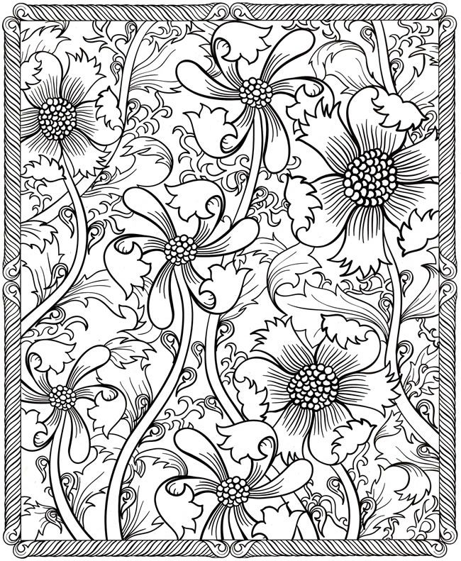 design coloring pages for adults at getdrawings free