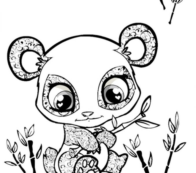 detailed cute animal coloring pages