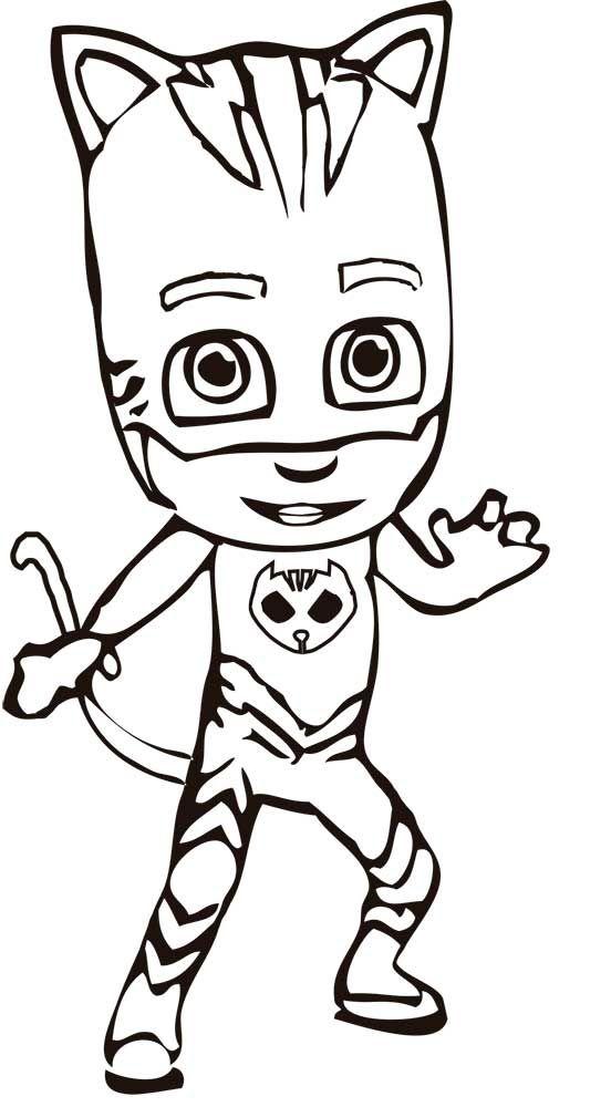 dibujos de pjmasks para pintar pj masks coloring pages