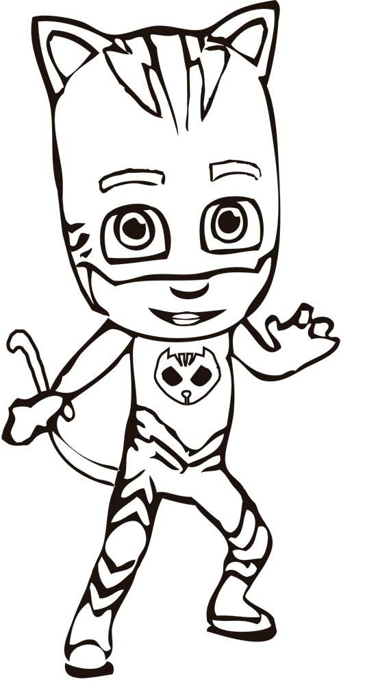 dibujos de pjmasks para pintar pj masks coloring pages
