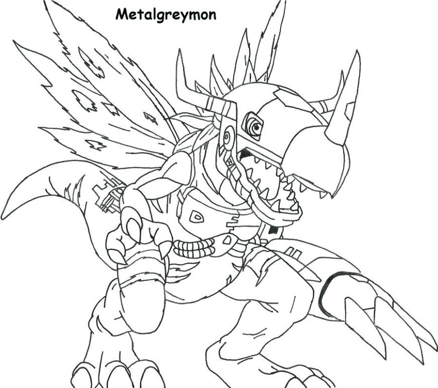 digimon coloring pages at getdrawings free for