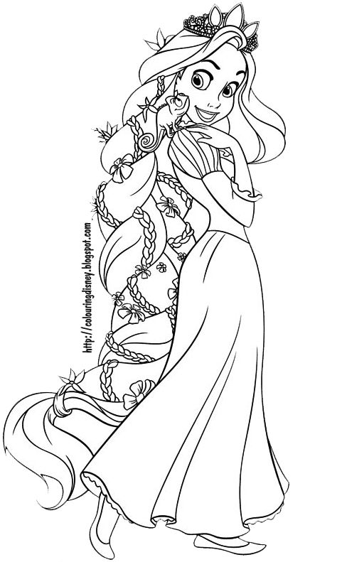 disney coloring pages tangled coloring pages of rapunzel