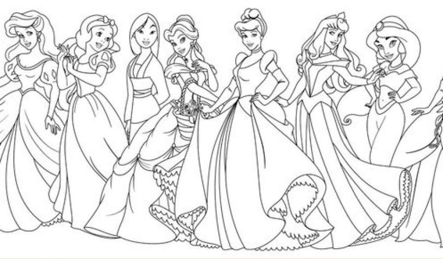 disney princes coloring pages at getdrawings free for