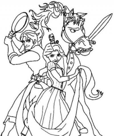 disney tangled coloring pages printable tangled coloring