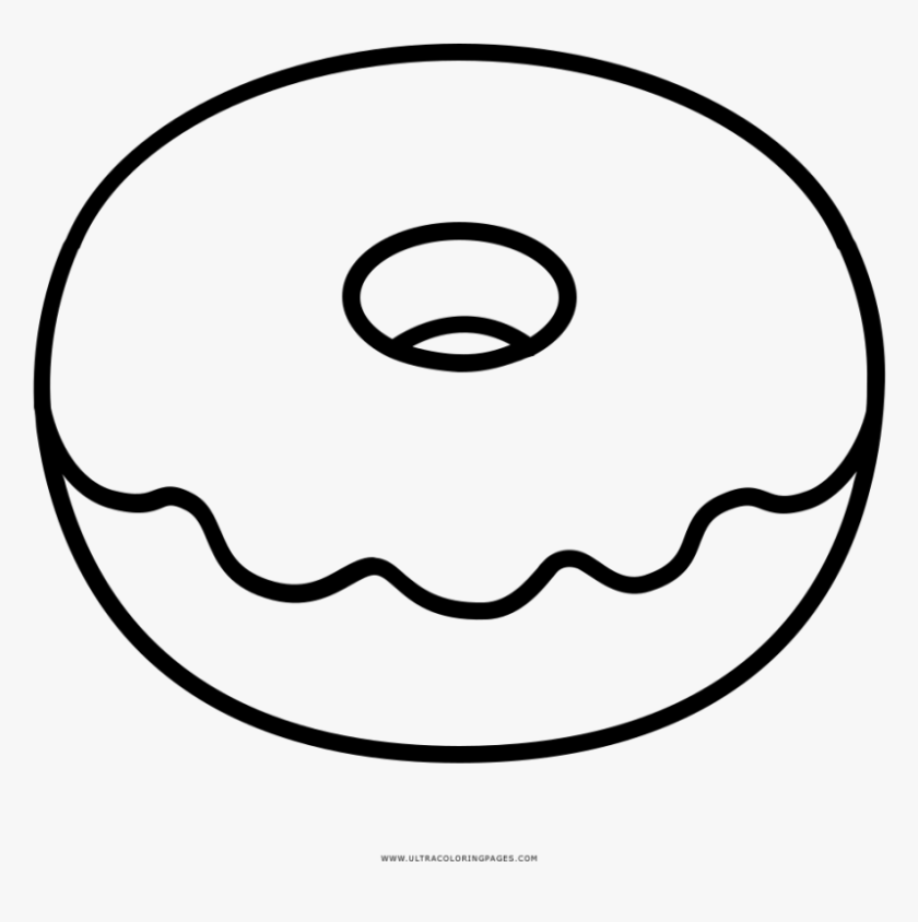 Donut Coloring Pages Picture - Whitesbelfast