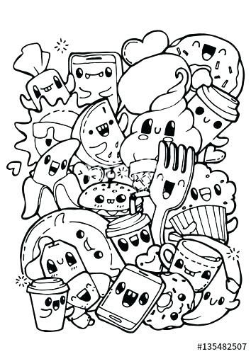 doodle art coloring pages doodling coloring pages dining
