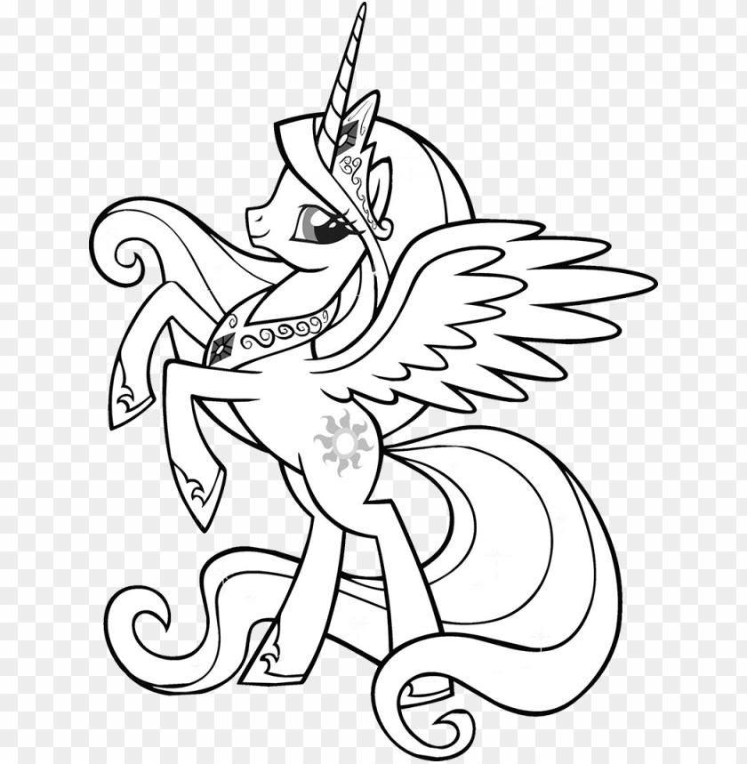 download princess celestia little pony my little pony