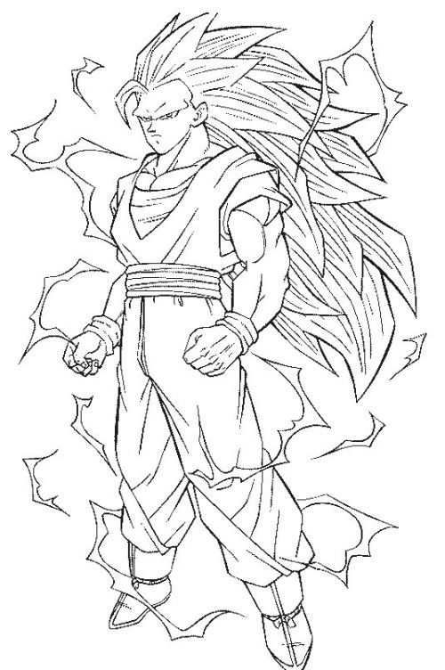 Dragon Ball Super Coloring Pages Pictures Whitesbelfast