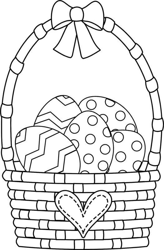 easter basket coloring pages malvorlagen malvorlagen