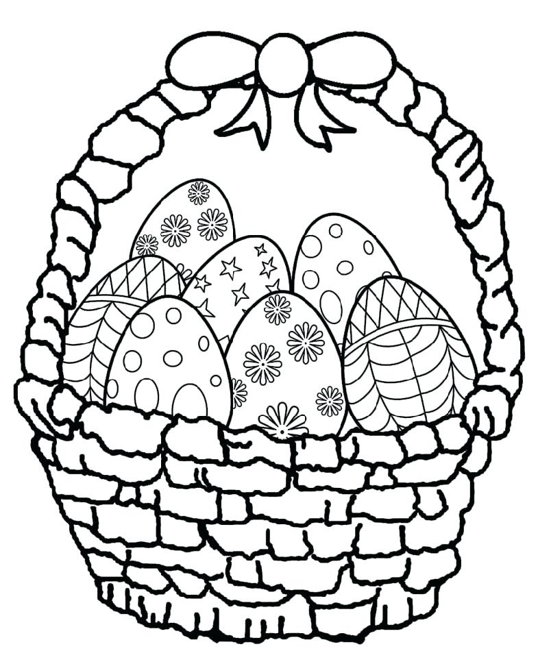 easter egg coloring pages for preschool ainoumiclub