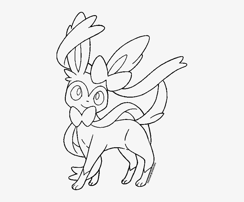 eeveelution drawing sylveon graphic library download